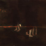 「翔焔」Gaudy Night 64.0×224.0/2015