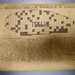 """Il cruciverba """"Italia"""""""