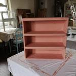 """Nachher. Farbe Annie Sloan Kombination aus """"Scandinavian Pink"""" und """"Pure"""""""