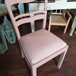 """Nachher. Stuhl verwandelt mit PtP Farbe in """"Afternoon Tea"""""""