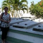 Das Grab von Compay Segundo, einer der Legenden vom Buenavista Social Club!