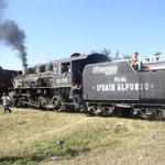 Und hier kommt der Zuckerrohr-Zug.