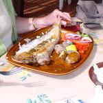 Än Guetä!! Wunderbare Fischplatte - nur für Vreni!