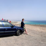 Unser Auto. Mit diesem haben wir die Insel unsicher gemacht.