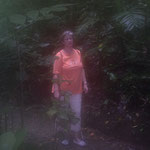 Es war so feucht, dass mir die Linse am Fotoapparat angelaufen ist!
