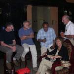 In der Mitte: Raphael Soto Lopez, unser Reiseleiter. Er war sehr kompetent und sprach perfekt Deutsch!