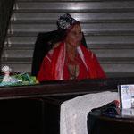 Besuch der legendären Sängerin Carmen Iznaga im Hotel Palacio Valle.