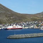 Ankunft im Hafen