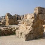 Fotos 1-4  Überreste von der Zitadelle in Byrsa