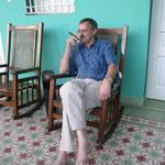 Eine feine Ziggarre am Abend darf man in Kuba nicht verwehren!