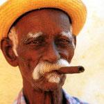 Ein typischer Kubaner wie man sie überall antrifft.