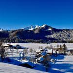 05.02.2019 Blick vom Dienersbergerweg auf unser Scheibenhaus