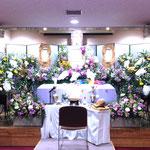 すみれホール花祭壇