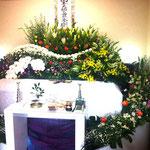 家族葬花祭壇