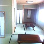 太子会館 控室