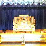 野菊の里 祭壇