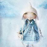Крошка Снежинка / Little Snowflake. 25 см