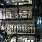 Les ascenseurs de verre