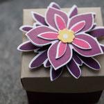 """Blumen aus dem Stempelset """"Flower Patch"""" und ausgestanzt mit den Framelits """"Blütenzauber"""""""