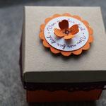 """Minibox mit Deckel mit """"Ein Gruß für alle Fälle"""""""