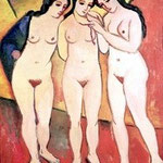 3 graces (august macke)