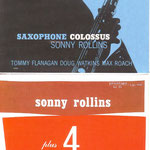 sonny rollins - saxophone colossus and +4