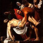 carravagio - taking christ of the cross