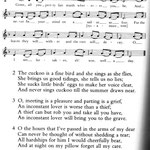 english country songbook - the cuckoo
