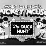 mickey hunts ducks