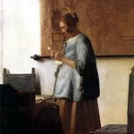 johannes vermeer - the letter
