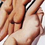 3 graces (tamara de lempicka)