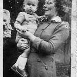 grootmoeder baby edzard moeder