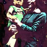 Baby Edzard met moeder