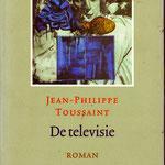 jean philippe toussaint - de televisie