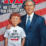 mad - alfred neuman with president