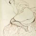 gustav klimt - erotic sketch
