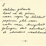 "Edzard Dideric Pieter Bijwaard ""Zwartwit"" '81"