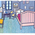 roy lichtenstein - bedroom van gogh