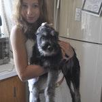 Harley with Liza