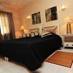 Luxe slaapkamer in de Comfort Plus appartementen