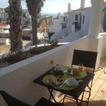 Ontbijt met zeezicht vanaf het terras?!