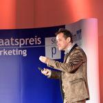 Infotainer Dietmar Dahmen bei der Marketing Impuls Austria