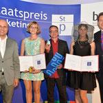 """Sonderpreis  Start-up-Strategie für """"DACHMARKE* Linzer Stadthonig""""."""
