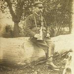 Wójt gminy i założyciel Kółka Myśliwskiego, Władysław Zdzieszyński, 1926 r.