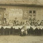 """Kurs szycia """"Singer"""", 1929 r."""