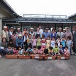 亘理山野草会の皆さんは、昨年に引き続き、地域のためにと活動に協力してくださいました