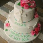 Cake design personnalisé, Traiteur communion