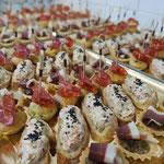 Plateau salé apéritif, Traiteur repas de famille