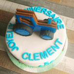 Cake Design, Tracteur, Gâteau anniversaire personnalisé