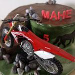 Cake design moto cross